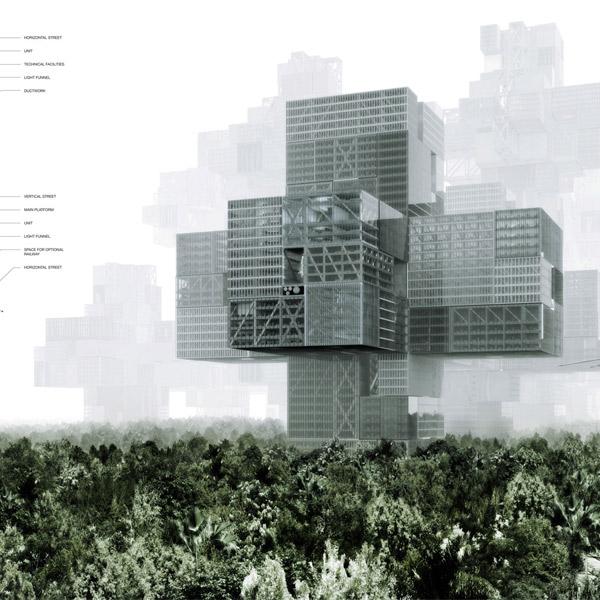 ландшафт,концепт, Города будущего: 10 уникальных проектов