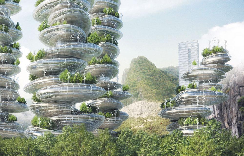 Города будущего: 11 уникальных проектов