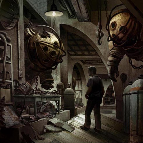 BioShock,концепт,кино, Опубликованы концепт-арты к фильму BioShock