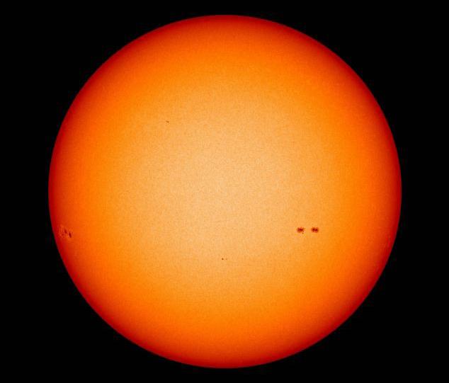 солнце низкая активность