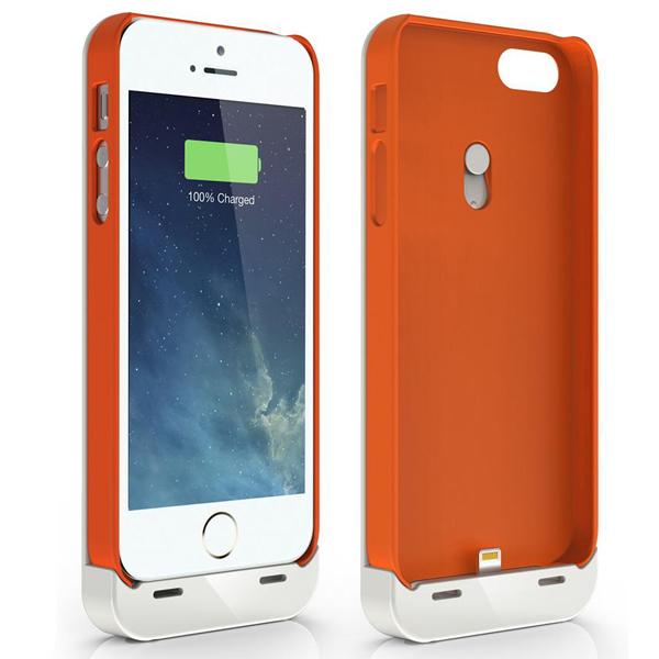 iPhone, iPhone 5S, аккумулятор, Зарядка Jackery Leaf удвоит время работы аккумулятора iPhone 5S