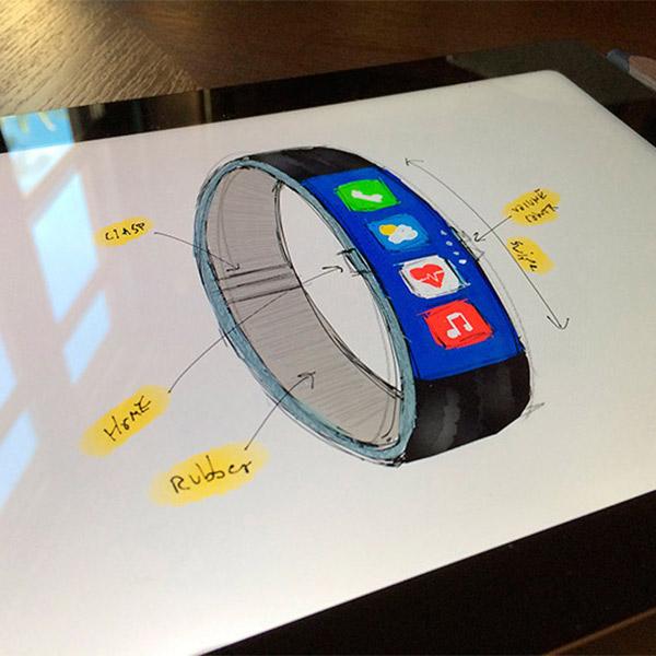 iWatch,концепт,дизайн,Apple, Создан новый концепт iWatch