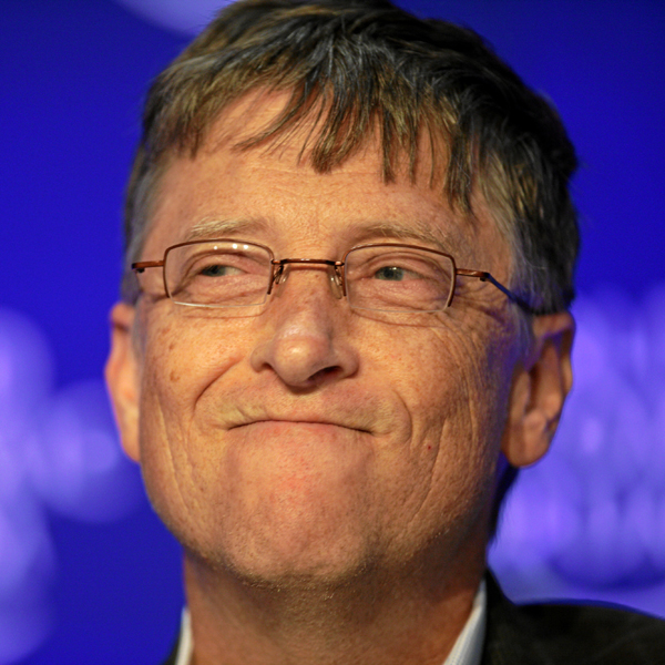 Билл Гейтс, благотворительность, Билл Гейтс в парике и с леденцом развеял три мифа