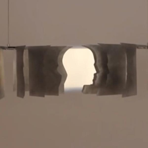 привидение, инсталляция, Привидение следит за вами