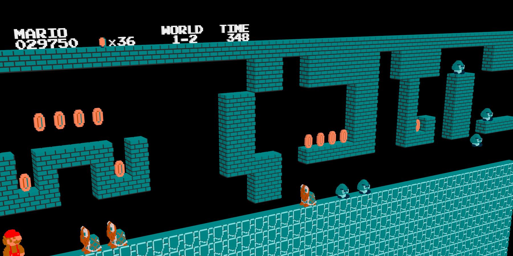 Все заставки NES «Press Start» в одном видео