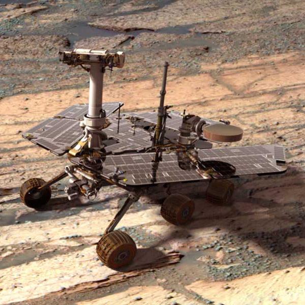 Марсоход Opportunity доказал, что в древности на Марсе была пресная вода