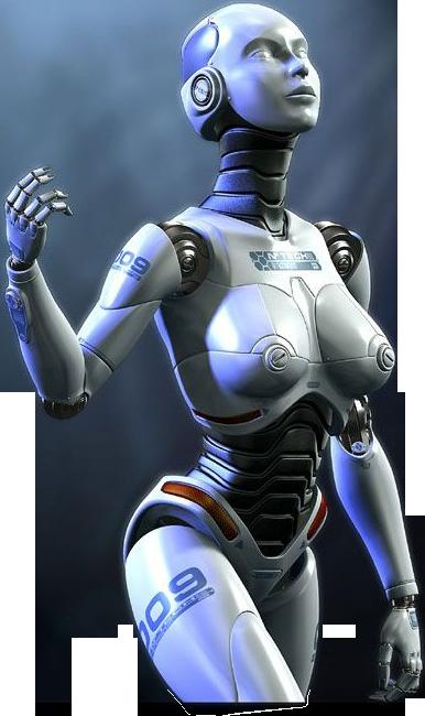 картинки робот человек