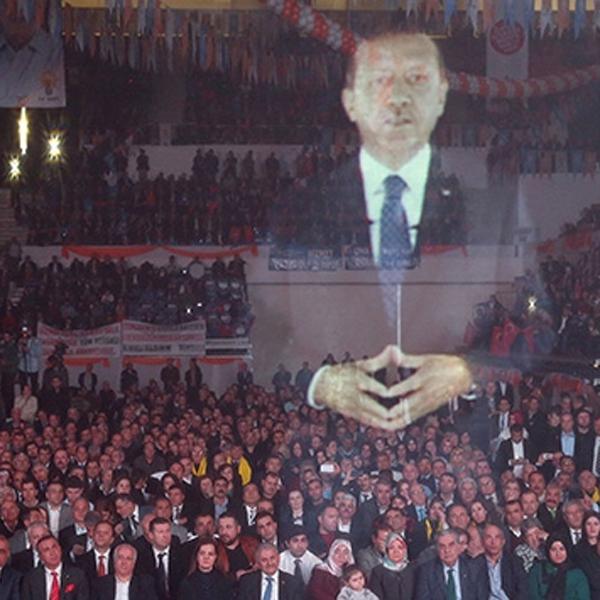 голограмма, Вместо лидера турецкой партии выступила голограмма
