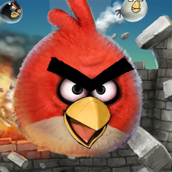 Angry Birds, АНБ, сетевая безопасность, большой брат, Angry Birds может быть использована для слежки за пользователями
