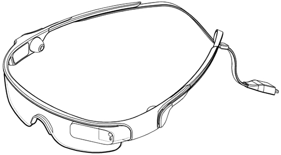 glasses samsung патент