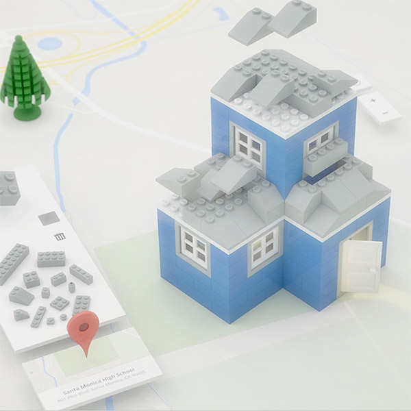 Google, LEGO, Браузер Chrome предлагает поиграть в конструктор Lego