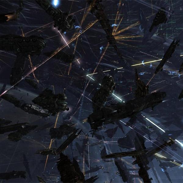 EVE online, В течение 15 часов было уничтожено космических кораблей на 200 тысяч долларов