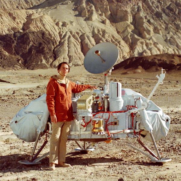 Карл Саган, космос, Огромный архив Карла Сагана был опубликован Библиотекой Конгресса