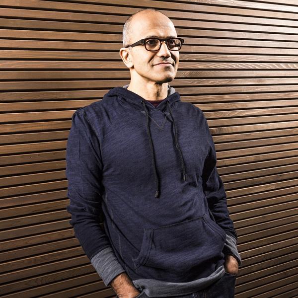 Microsoft, Пост главы Microsoft достался Сатье Наделле