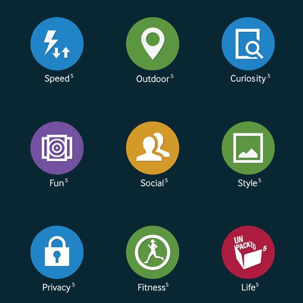 Samsung, Galaxy, иконки, TouchWiz, Samsung хвастается новыми иконками TouchWiz