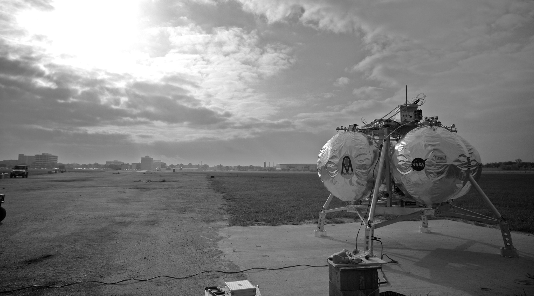 74 секунды из жизни посадочного модуля NASA Morpheus