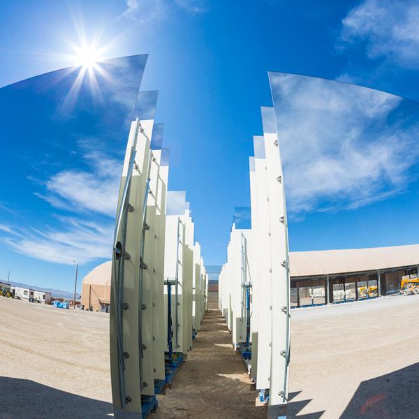 альтернативная энергия, солнечная энергия, электростанция, Сегодня крупнейшая в мире солнечная станция начала давать электричество