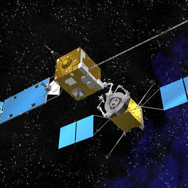NASA,робот,космос,спутник, NASA строит платформу для заправки спутников в космосе
