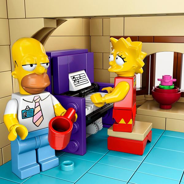 Симпсоны,LEGO,конструктор, Добро пожаловать в мир LEGO: Симпсоны