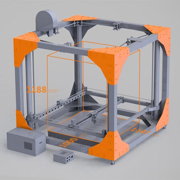 3D-принтер, 3D-печать, 3D принтер, BigRep ONE может напечатать мебель в натуральную величину