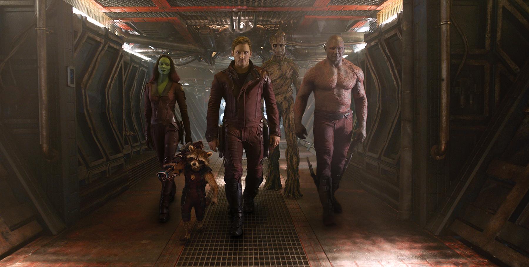 Вышел полный трейлер «Стражей Галактики» Marvel