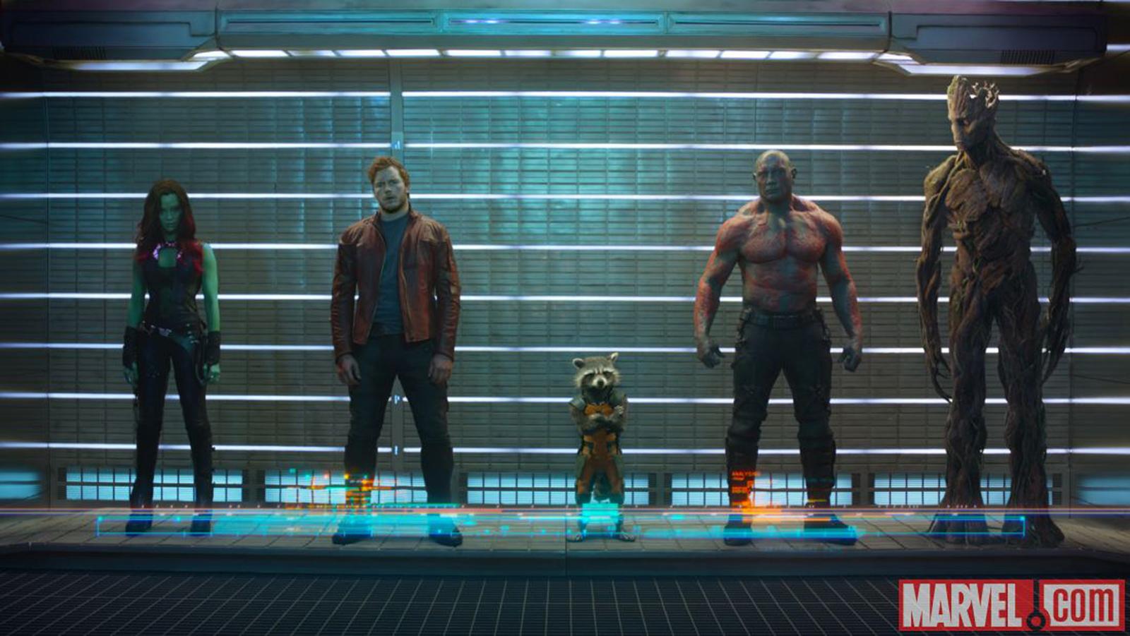 Marvel представил первый тизер «Стражей Галактики»