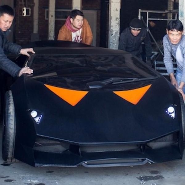 Сделай сам, авто, Lamborghini, Volvo, Киргизы собрали Lamborghini из обычного Volvo