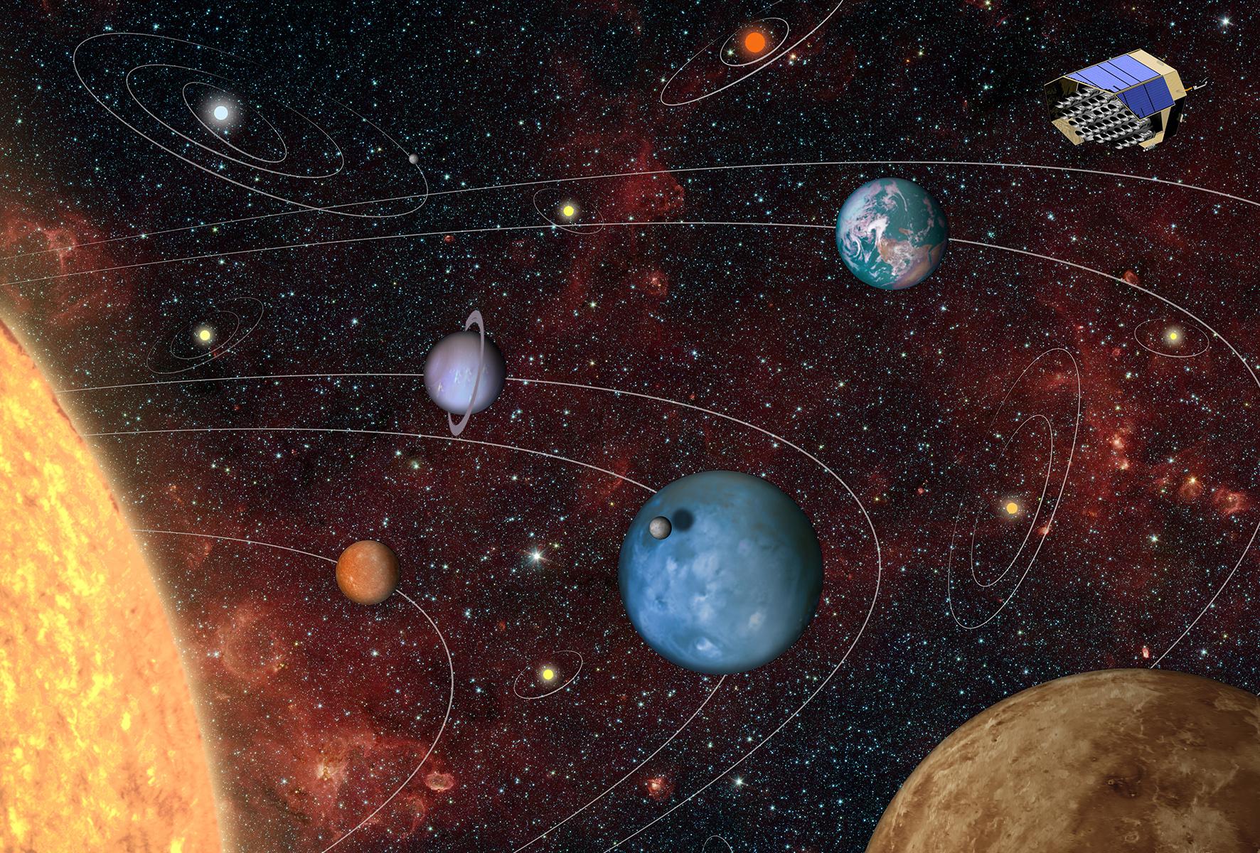 Космическая обсерватория в поисках новой Земли