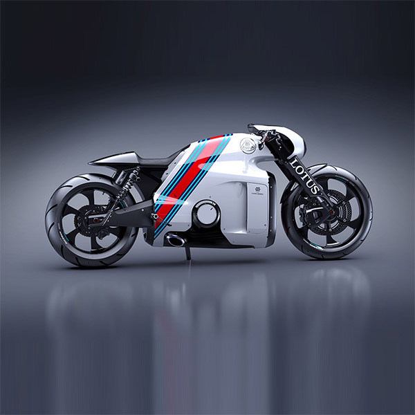 Lotus,Tron,мотоцикл, Дизайнер «Трона» создает супербайк