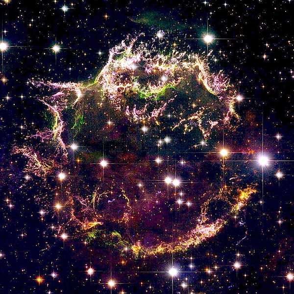 NASA,звезда,сверхновая, NASA раскрывает тайну взрыва звезд