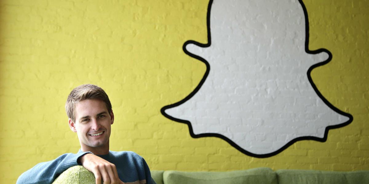 главный исполнительный директор Snapchat Эван Шпигель