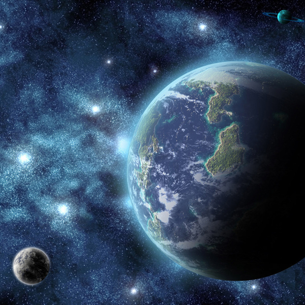 Земля, космос, астрофизика, Планеты как шарики