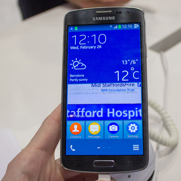MWC 2014, Samsung, Tizen, Samsung показал смартфон на Tizen OS