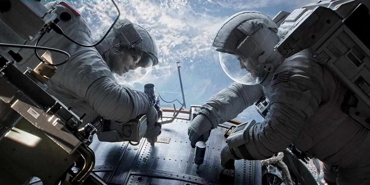 гравитация фильм миссия выход в открытый космос