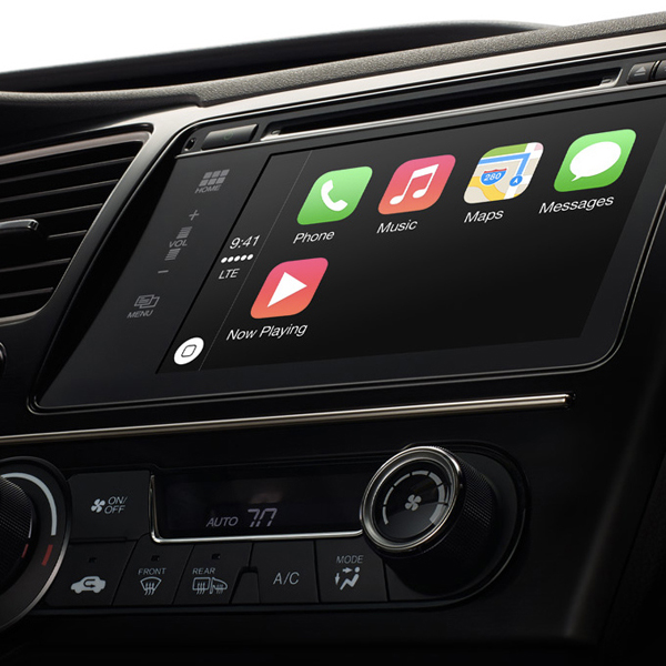 Apple, CarPlay, CarPlay от Apple устанавливает iOS на приборной панели