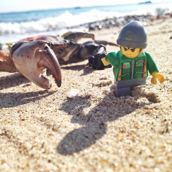 LEGO,фотография, Опасная, но красивая жизнь Lego-фотографа
