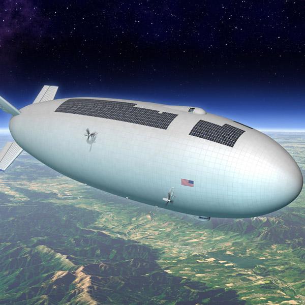 дирижабль,будущее, Дирижабли произведут революцию в науке