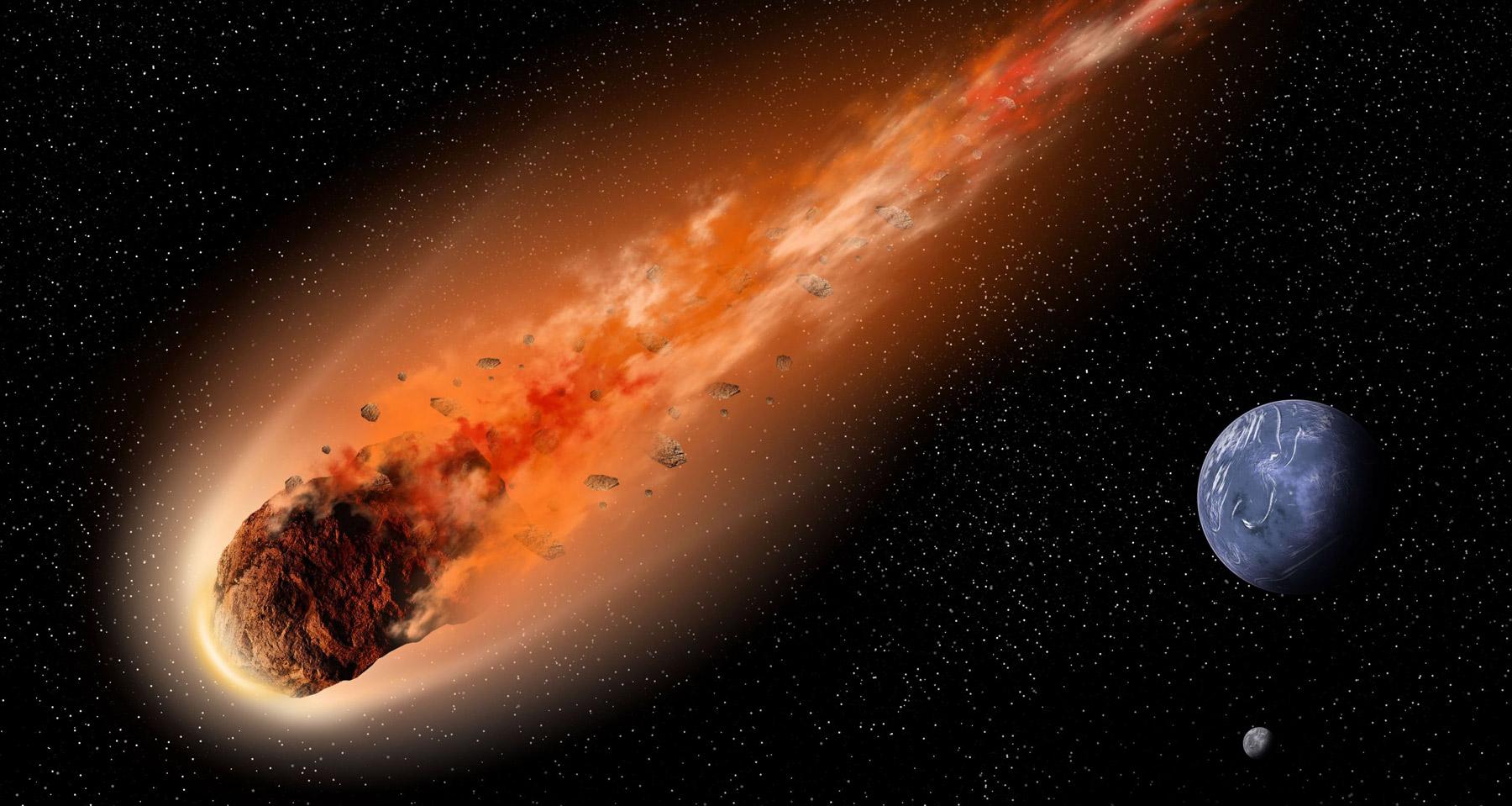 Астероид, втрое крупнее Челябинского метеорита, пролетит сегодня ночью вблизи Земли