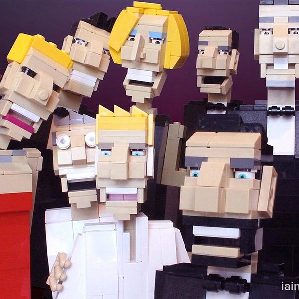 мемы,LEGO,Оскар,селфи,  «Селфи» на Оскаре в стиле Lego