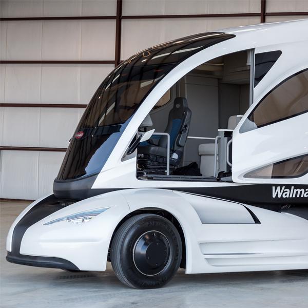 Walmart,транспорт, Walmart планирует выпустить невероятный футуристический грузовик