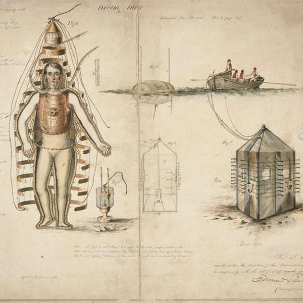 патенты,стимпанк, 8 безумных патентов США XIX века