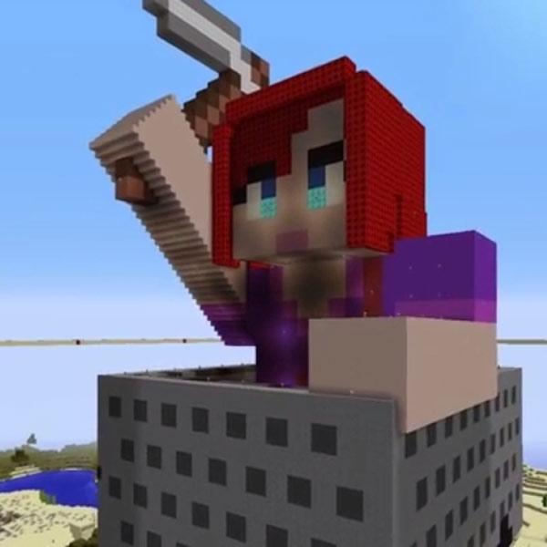 Minecraft, Мужчина построил виртуальный памятник умершей жены в Minecraft