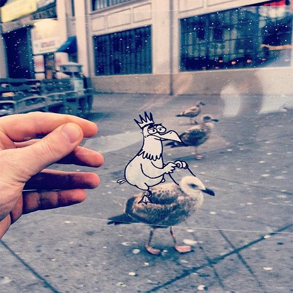 креатив, дизайн, Instagram, Художник переносит милых рисованных монстров в реальность