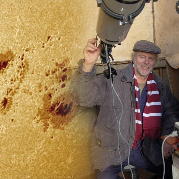 Солнце, фотография, Потрясающие фотографии солнечных вспышек снятые астрономом-любителем