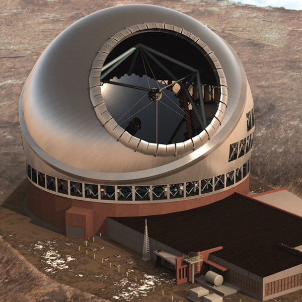 Гавайи,телескоп, Гавайи стали домом для самого большого оптического телескопа TMT