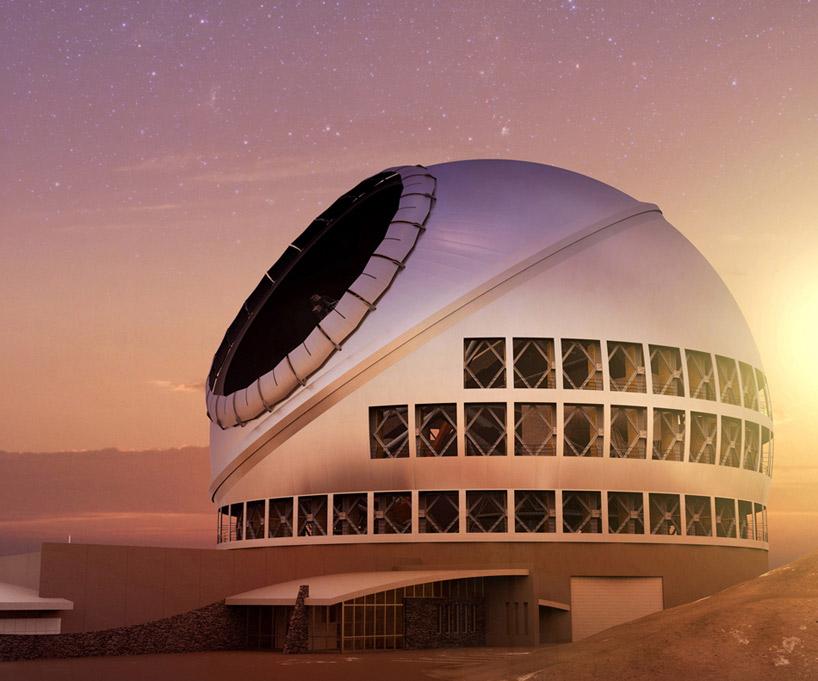 TMT сумерки телескоп Гавайи