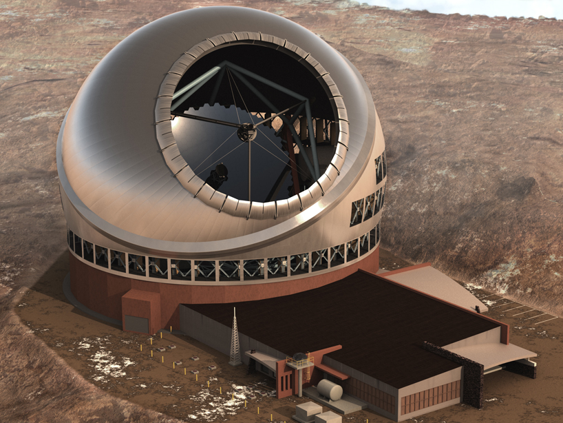 TMT телескоп Гавайи