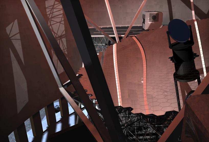 TMT телескоп иллюстрация