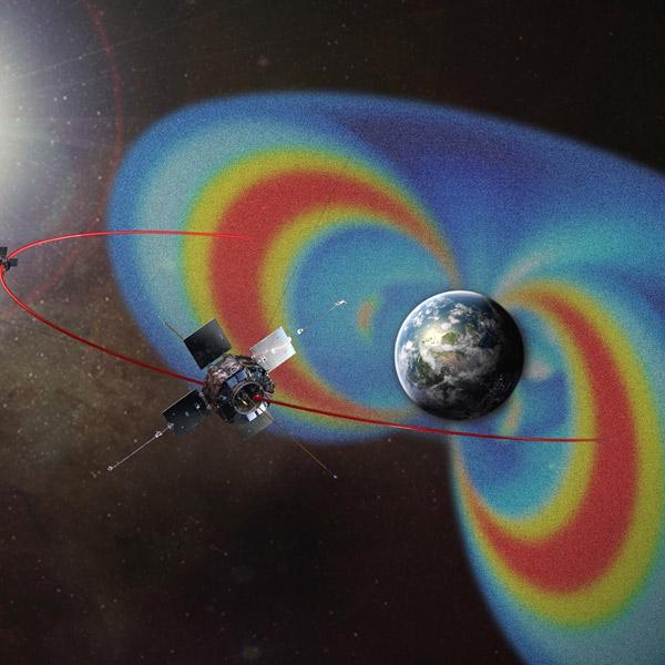 Земля, радиация, пояс Ван Аллена, «Полосатый» радиационный пояс Земли