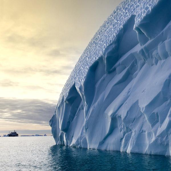 антарктика, лед, ледник, Как выглядит таяние ледников Антарктики